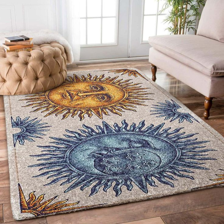 hippy sun and moon bl090860m rug  rugs cool rugs