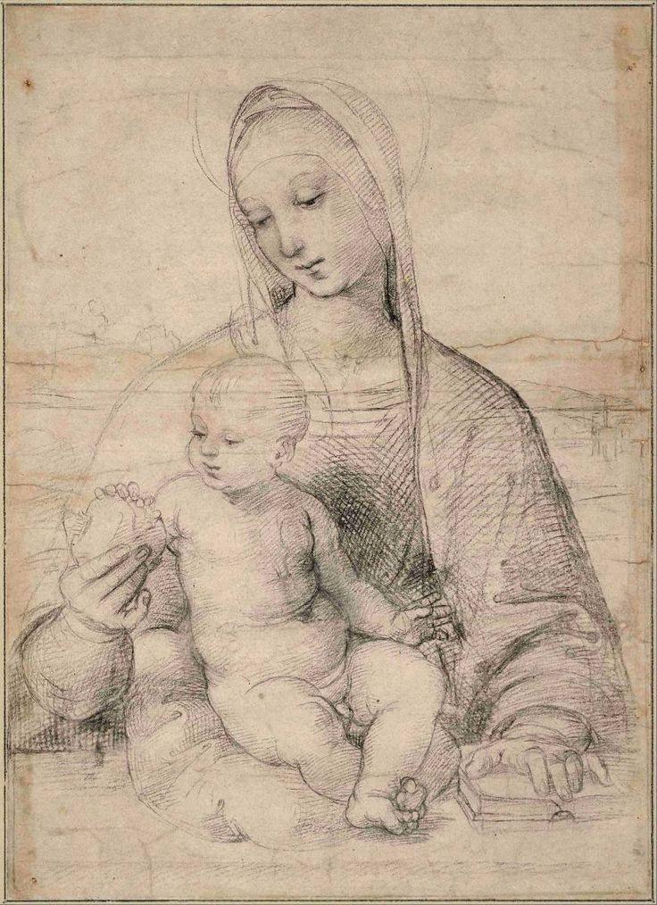 Madonna de la granada. Raffaello Sanzio