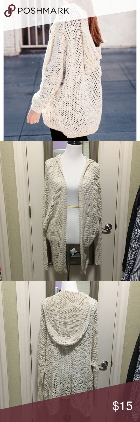 Brandy Melville Cardigan Very well loved. Has some stretching due to being on a hanger. No stains. Brandy Melville Sweaters Cardigans
