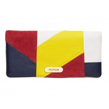 CUBIST SPLICED WALLET - Wallets - Mimco