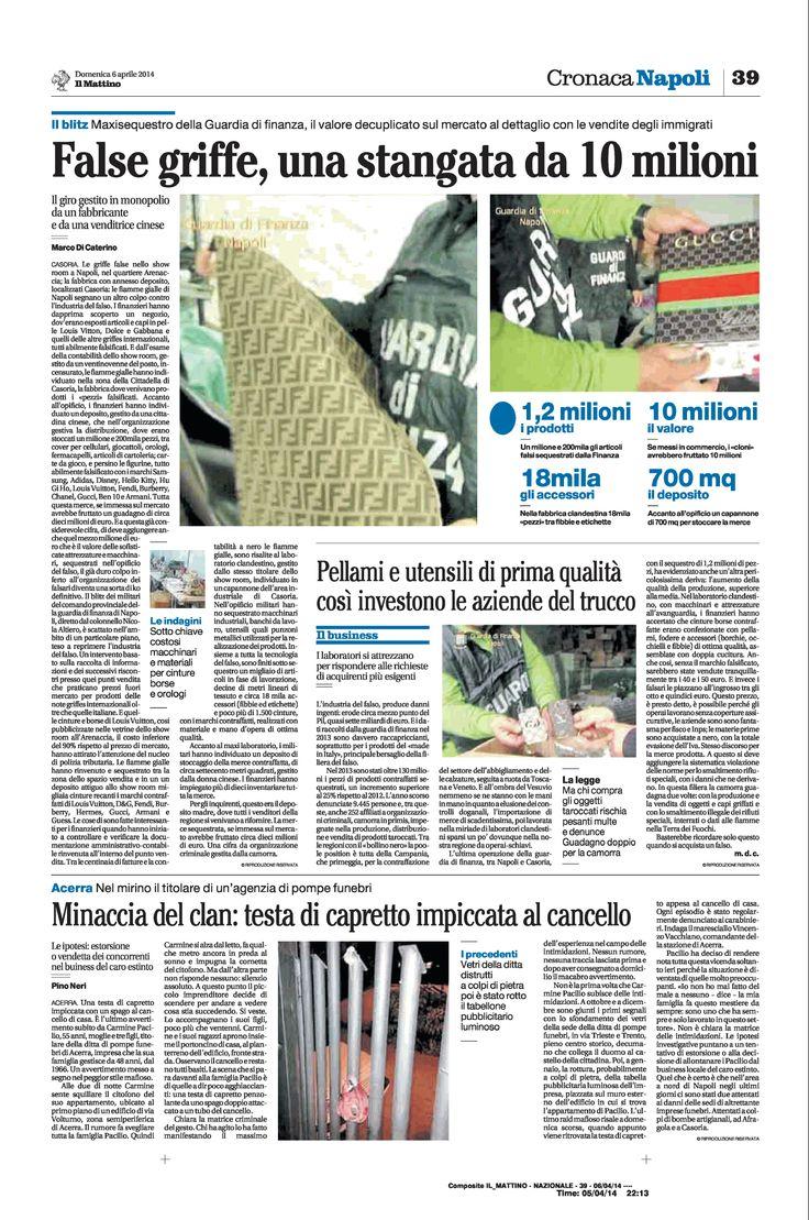 Griffe false, stangata da 10 milioni di euro