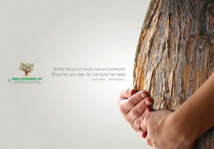 World Environment Day Tree Ad #Advertising #Nature #Tree The graphic is clever and attention getting but not immediately understandable as to what the specific message is about.  It's too 'up in the head and not enough relatable to common experience.  Missed it.  Clever.  Creative.  But missed it.