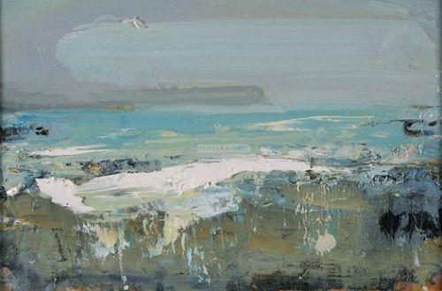 colin-vian: Hannah Woodman - Rolling Clouds, Blue Seas, Gwithian
