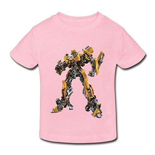 Kids Toddler Transformers Little Boys Girls T Shirt LightPink Size 2 Toddler @ niftywarehouse.com #NiftyWarehouse #Movies #Transformers