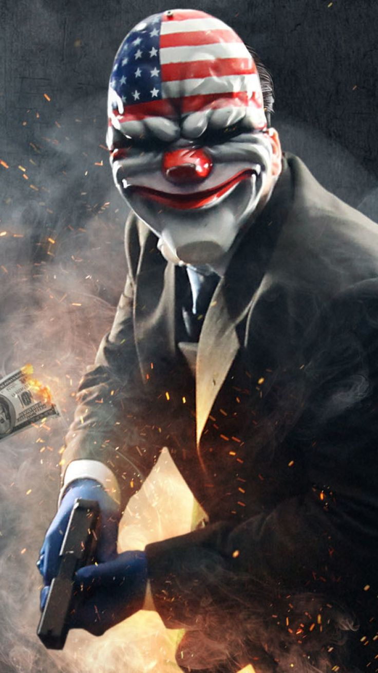 IPhone 6 Payday 2 Wallpapers HD, Desktop Backgrounds 750x1334