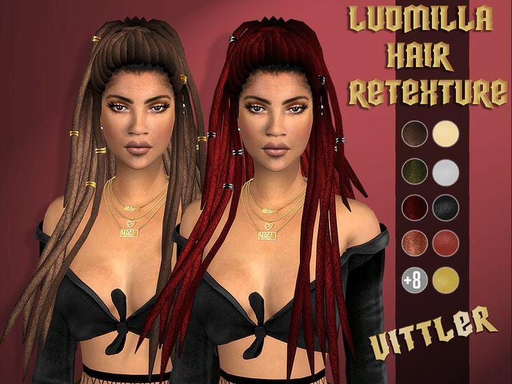 Custom Thumbnails    HQ Textures    HQ Mod Compatible    Pictures Taken with HQ Mod    12 Colors (Braids)    12 Colors (Dreads)   ...