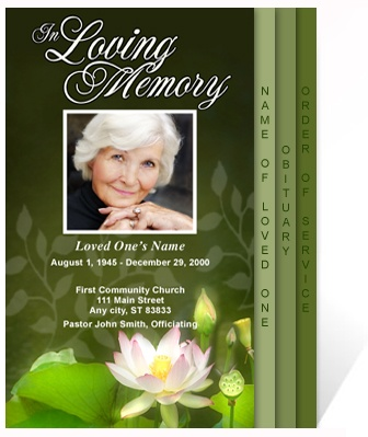 33 Best Funerals Images On Pinterest | Program Template, Funeral
