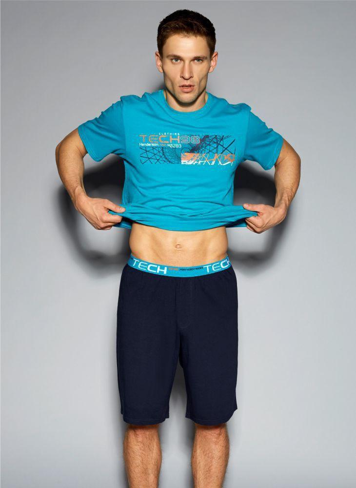 Niebieska piżama Henderson Hego