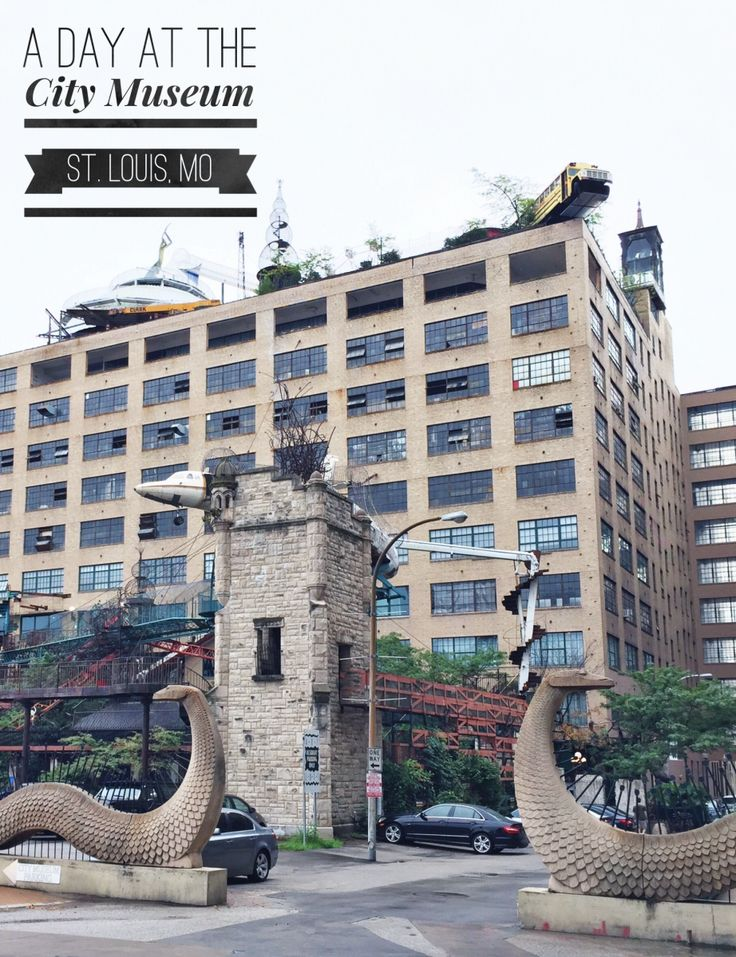 A Day at the City Museum - Cannot wait to take the kids to this place in St. Louis now that they're older and more adventurous