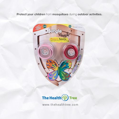 This summer #protect your children from the bites of #mosquitos  with #JungleMagicMosquitoBanditz.  #thehealthtree