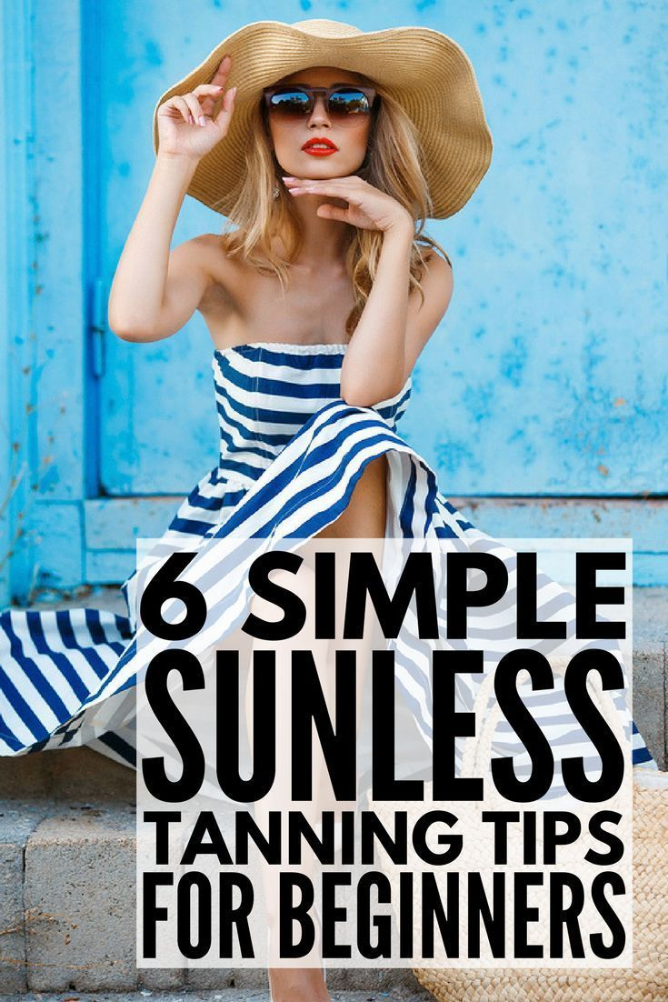 Fabulous tips, products, and tutorials to teach you how to apply self-tanner properly so you can get a natural, smooth-looking tan for your face and body without subjecting your skin to the sun's harmful UV rays. These sunless tanning application tips include links to some of the best products and applicators on the market (drugstore brands don't compare!), a couple of tricks to ensure your tan doesn't end up looking blotchy, and the best remover in case it doesn't turn out the way you hope!