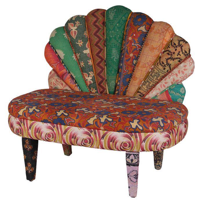 Best Roshni Accent Chair Accent Chairs Chair Bohemian Decor 400 x 300