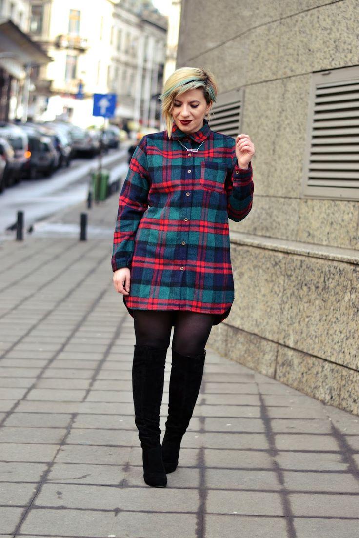 How to look cool: The shirt dress: LA BOHÈME