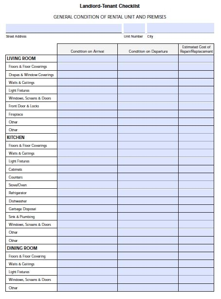 florida-landlord-tenant-move-in-checklist
