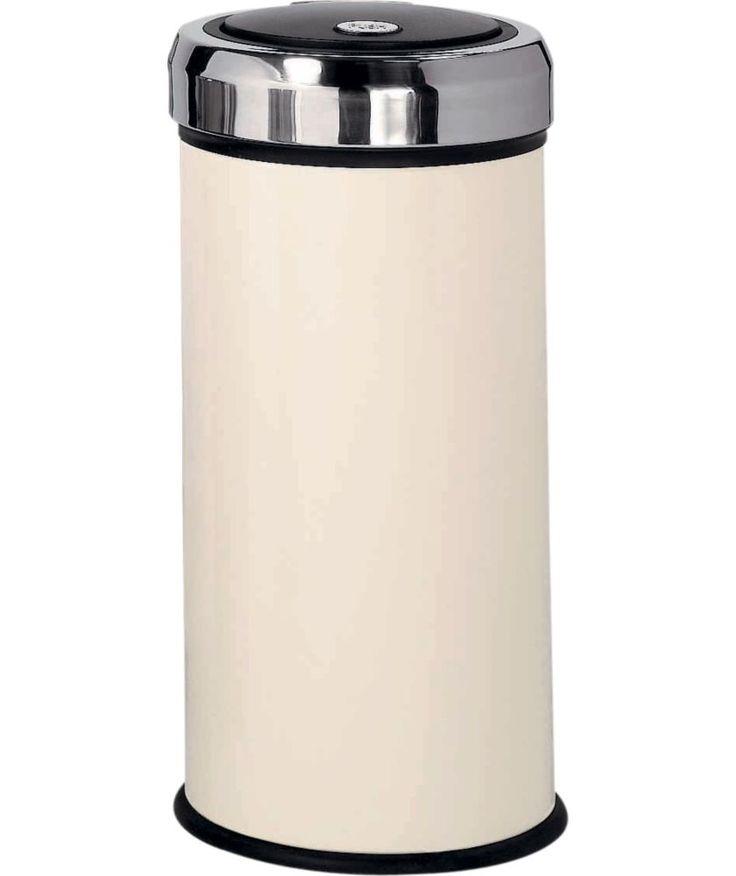 Buy 30 Litre Touch Top Kitchen Bin - Cream at Argos.co.uk - Your Online Shop for Kitchen bins.