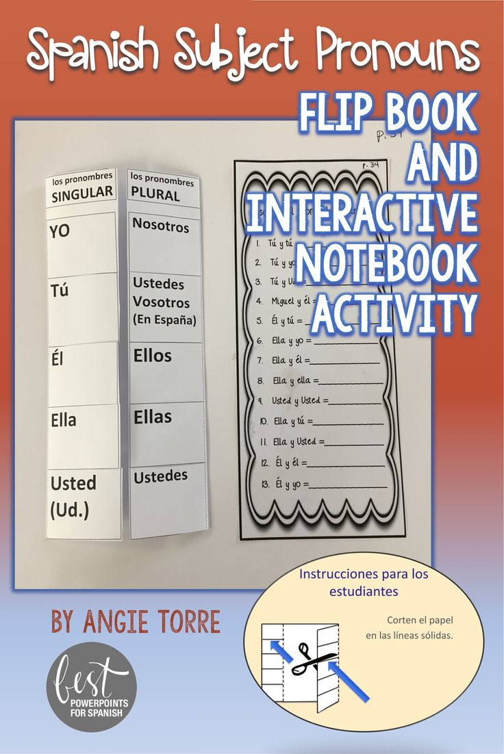 Workbooks realidades 1 capitulo 5b workbook answers : 57 best Pronombres images on Pinterest | Spanish classroom ...