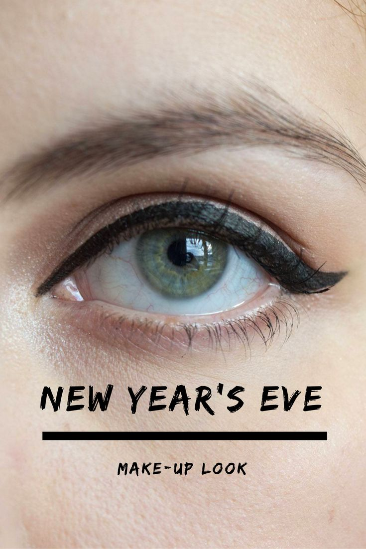 New Year's Eve Make-up Look: Classic Pin-up (Red Lips & Winged Liner)