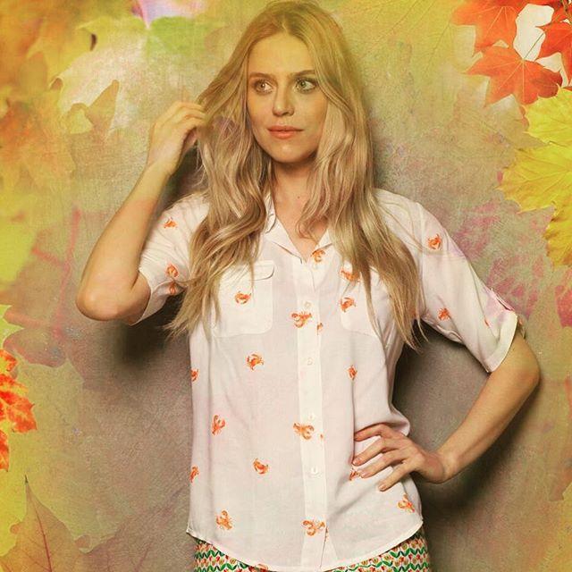 Camisa de viscose Siri. Super leve e uma delicia pra usar nos dias quentes. ☀️💛☀️💛☀️ #modafeminina #casualday #clothes #ternodisola #top #roupas #camisa #viscose