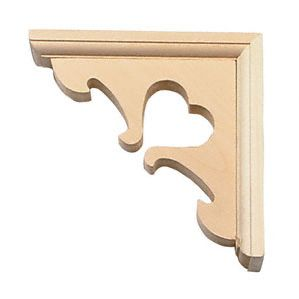country wood shelf brackets - Google Search