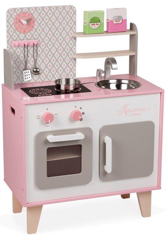 Cena: 455.00zł. Eksresowa wysyłka od ręki. KUCHNIA DREWNIANA DUŻA Z AKCESORIAMI - MACARON francuskiej... więcej na www.Tublu.pl #tublu #tublu_pl #zabawka #zabawki #dla #dzieci #toy #for #kid #doll #cooking #player #zabawa #w #gotowanie #janod #kitchen