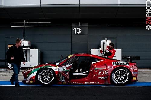 AF Corse Ferrari 458 GTC of Giancarlo Fisichella and Gianmaria Bruni, GTE Pro winner