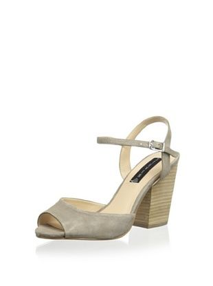 46% OFF STEVEN by Steve Madden Women's Shelli Sandal (Taupe Suede)
