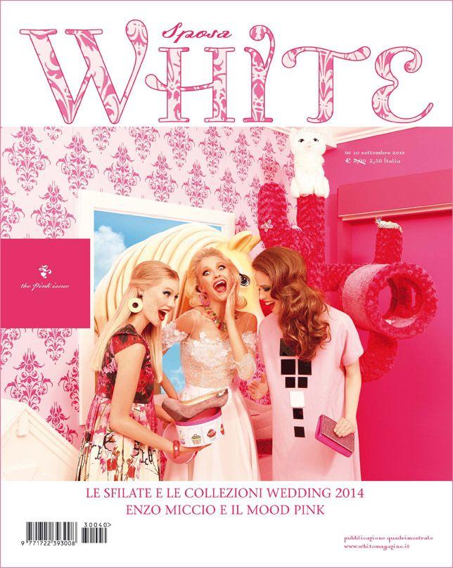 White Sposa 40 - the pink issue - ph. Cosimo Buccolieri - servizio di Cristina Canovi - abito Juliet @Wendy Felts Werley-Williams.whitemagazine.it