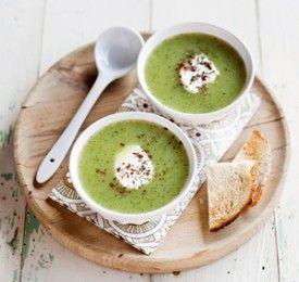 Courgettesoep met munt - Recepten - Culinair - KnackWeekend.be