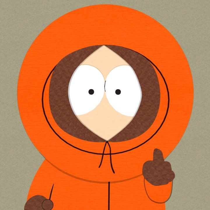 Kenny McCormick from southpark is a unique character because he doesn't talk he only makes noises, plus you never see his mouth. His attire is always his orange sweatsuit where you can only see his eyes. He is so unique that you remember who is and how he looks with his perfectly circled head but all you see on the character is his eyes.