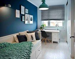Riviera of blue - Mały pokój dziecka dla chłopca dla dziewczynki dla ucznia dla nastolatka, styl skandynawski - zdjęcie od SHOKO.design