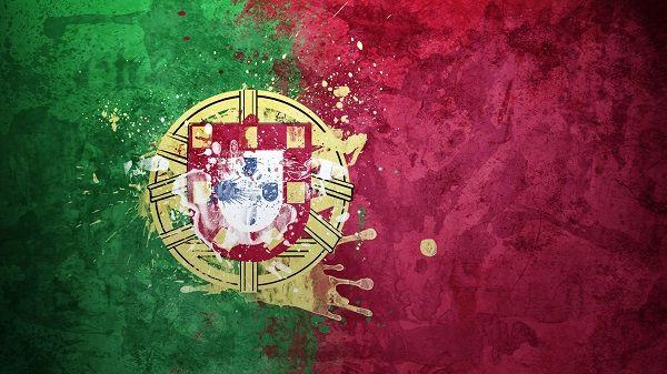 Portugal National Football Team Logo HD Wallpaper