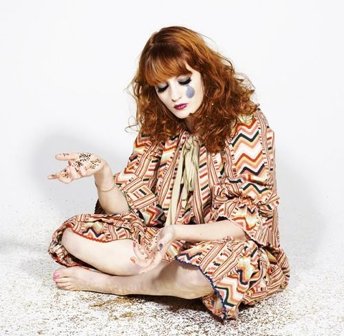 """Florence Welch of """"Florence+the Machine"""". One of my favorite artists!"""