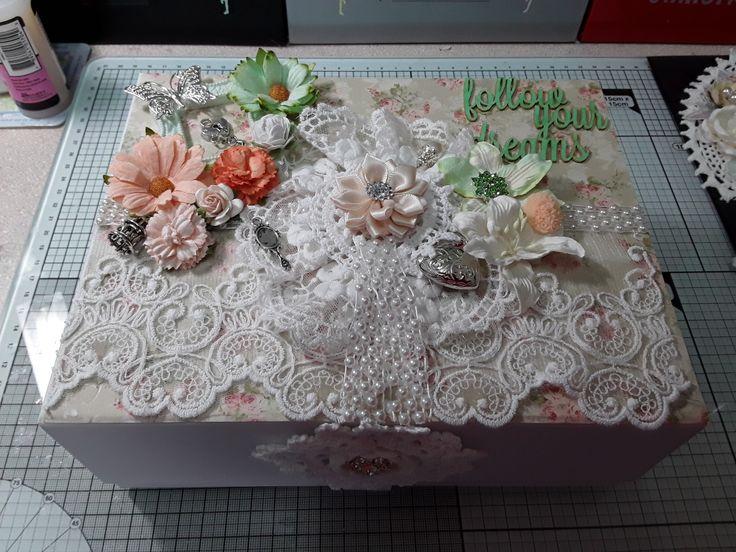 Lace memory box