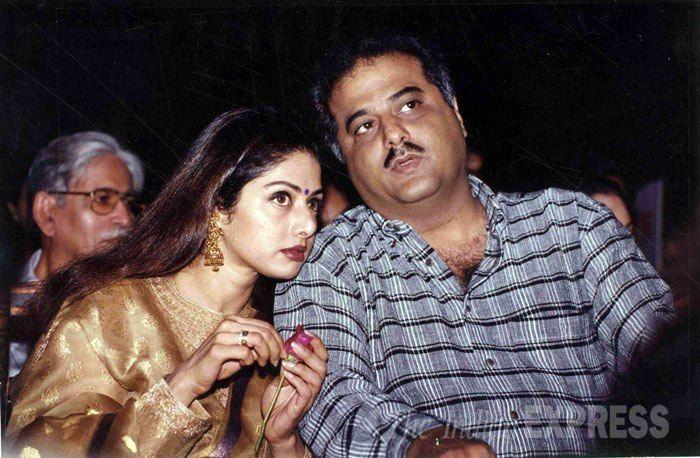 Sridevi and husband Boney Kapoor