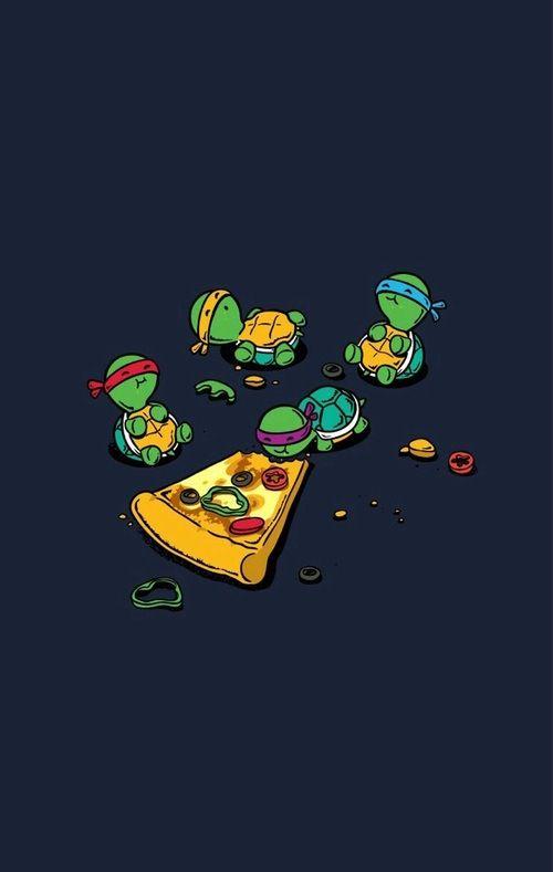 Baby ninja turtles!!   My Nerdy Side on COMICS.   Pinterest