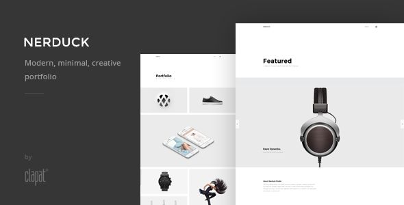 NOHO - Creative Agency Portfolio  Template - https://delicious.com/bellaatikah2