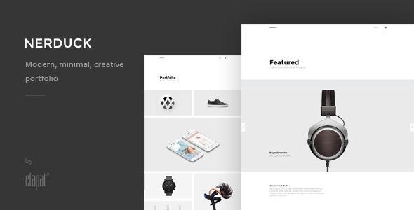 NOHO - Creative Agency Portfolio  Template - https://delicious.com/bellaatikah2