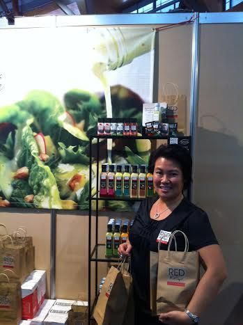 We're at the Sydney Good Food and Wine Show. This is Jo, one of the owners of Red Kellys Tasmania.