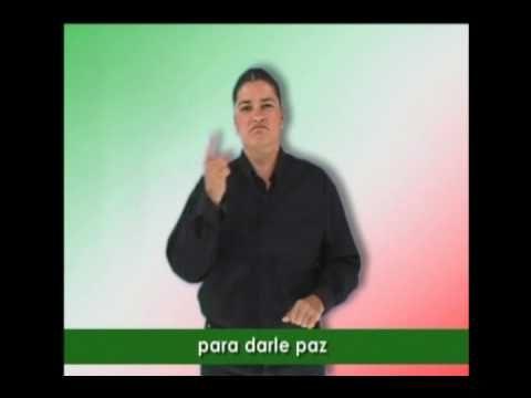 HIMNO NACIONAL MEXICANO - LENGUA DE SEÑAS MEXICANA. SIGNIFICADO.wmv
