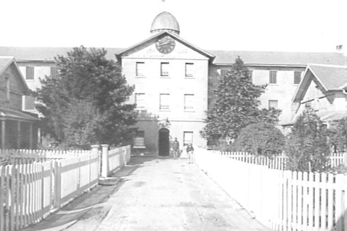 The original Parramatta female factory building, 1872