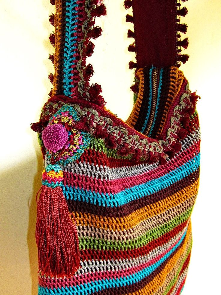 ~ crochet bag by me ~ | Flickr - Photo Sharing!