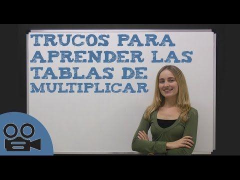 UNA FORMA FÁCIL DE APRENDER Y ENSEÑAR LAS TABLAS DE MULTIPLICAR - www.supermente.net - YouTube