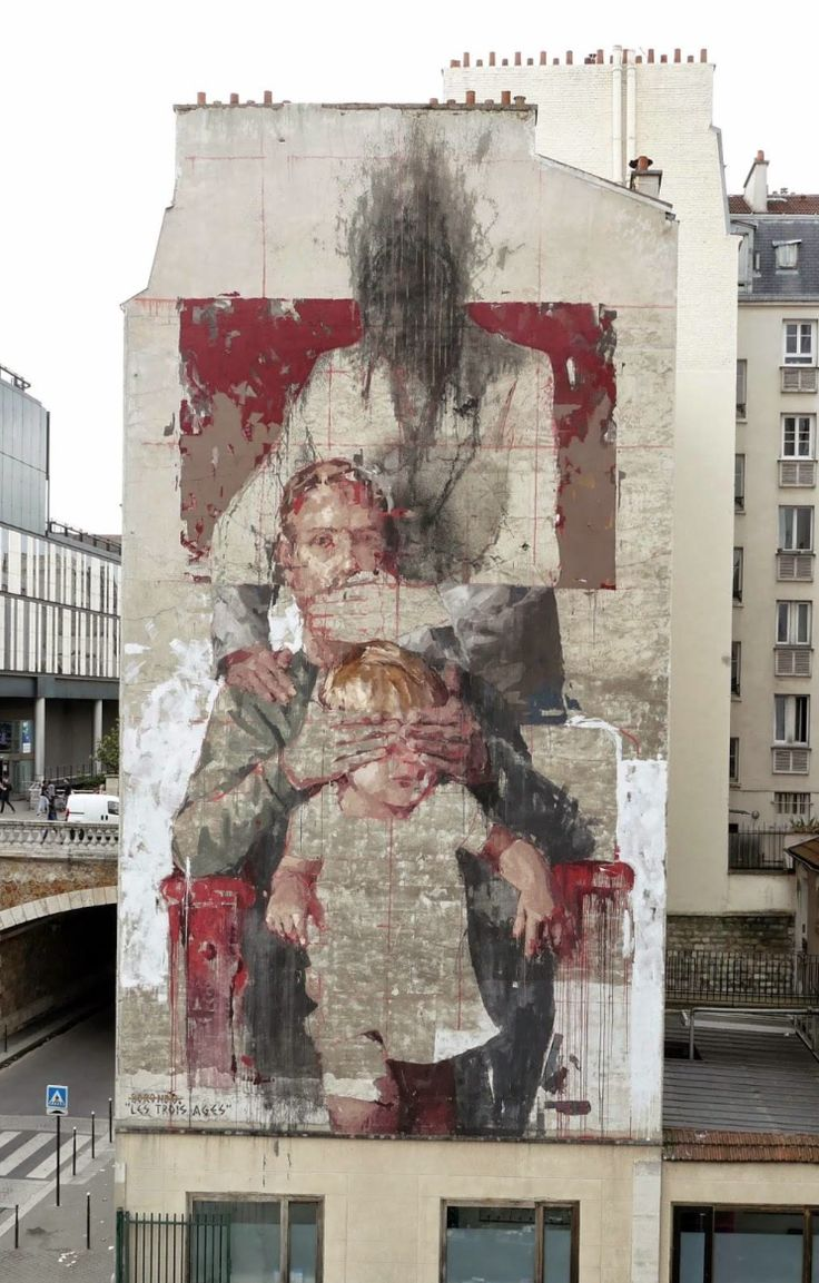 STREET ARTWORK OF THE DAY - Borondo, Parigi
