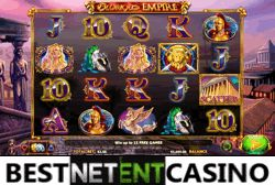 Play for free the Glorious Empire video slot by NYX