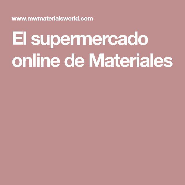 El supermercado online de Materiales