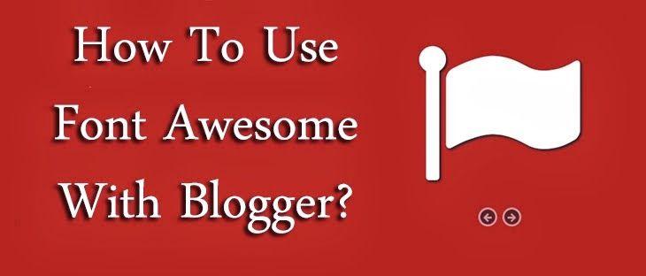 Cara Memasang Font Ikon yang Menakjubkan di Template Blogger Anda | D'Genera Apakah Anda ingin bermain-main dengan template Blogger Anda dan menyesuaikan desain? Atau apakah Anda merancang template yang profesional untuk meraup penghasilan? Bagaimana Anda berurusan dengan ikon template, seperti tombol, kontrol form, sinyal navigasi, dll? Kebanyakan orang menggunakan gambar untuk untuk ikon tersebut yang cenderung memburuk bila ukurannya diperbesar.