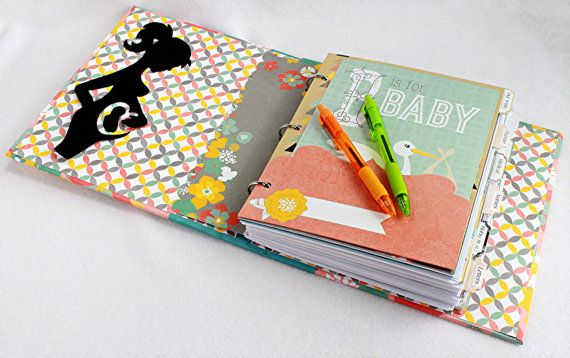 Everything you need to keep track of all the exciting events during your pregnancy! Pregnancy Journal Gift for Pregnnt Mom Pregnancy by OurMomsTouch.com