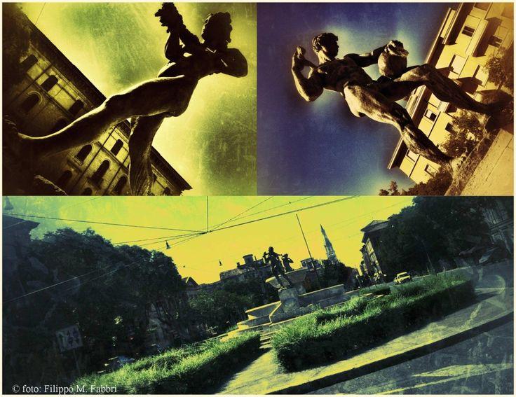 Città raccontate: Modena n. 7 (La fontana dei due fiumi)