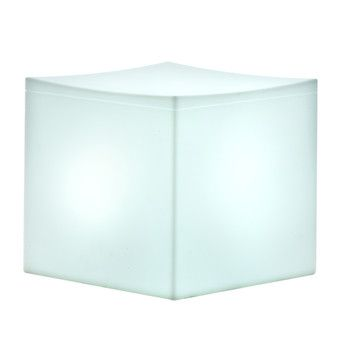 Lounge Cube With Lamp By Serralunga 1825, 42% Off (