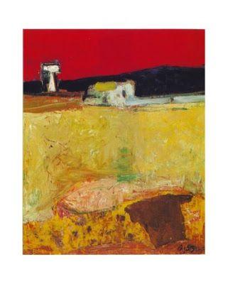 Wim Oepts - Huis 1982 herkomst Veiling Sotheby's Amsterdam olieverf/doek, 46x55 cm verblijfplaats onbekend Die dinsdagwas ik me...